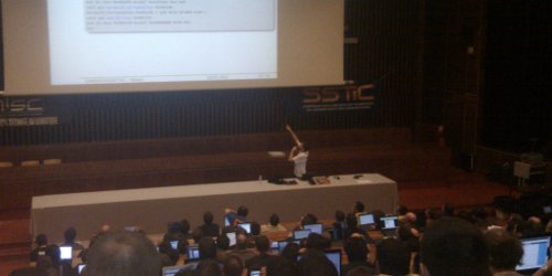 SSTIC 2012 - miasm presentation by F.DESCLAUX - Creative Common by Ozwald