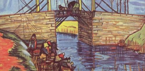 Extrait d'un tableau de Vincent van Gogh - Domaine Public