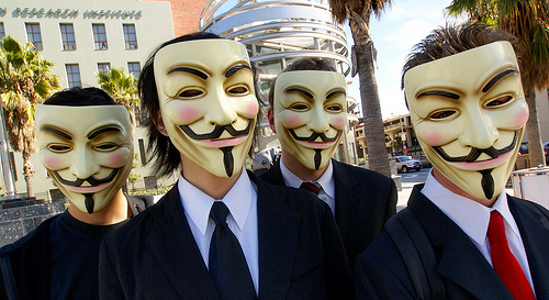 """Anonymous - Creative Common by """"CradleApex"""" on Flickr"""