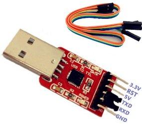 Convertisseur UART-USB à base de CP2102