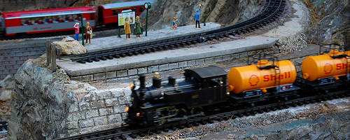 """Model Train - Creative Common by """"reverbca"""" on Flickr"""